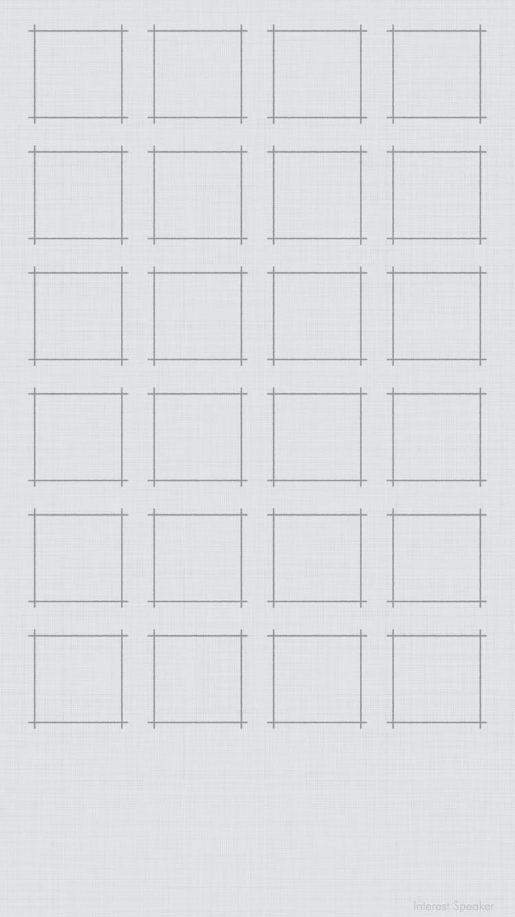 blanc grille fond d'écran pour iPhone 6 in 2020 Plain