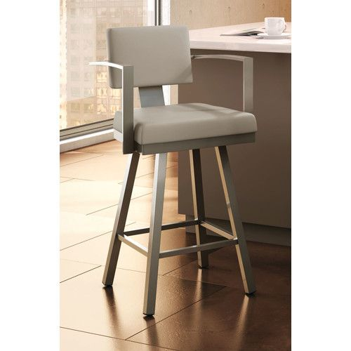 "Found it at AllModern - Perrotta 26.75"" Swivel Bar Stool"
