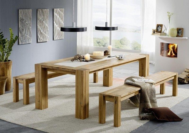 Masiv24.sk - BERLIN jedálenský stôl, lakovaný prírodný dub 140x90cm, nôžky 11x11cm