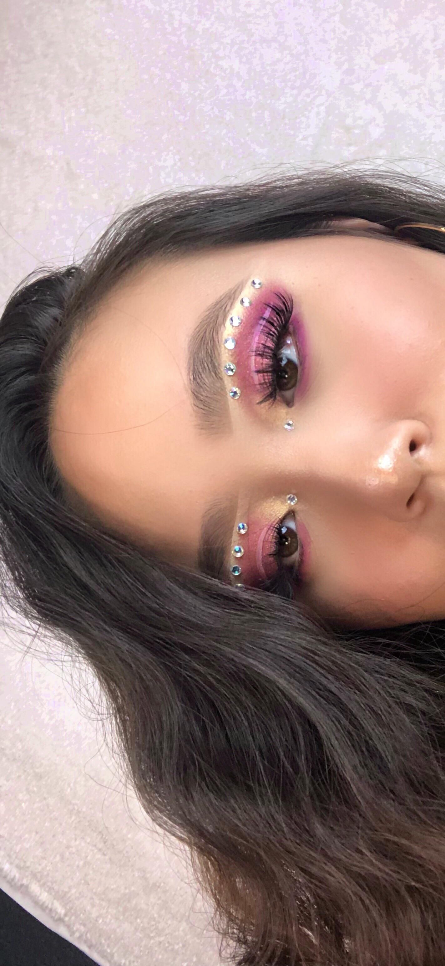 I was inspired by Maddy's makeup and filmed a video for this look