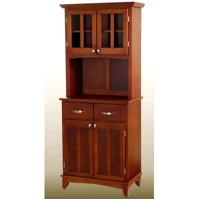 Mission Craftsman Shaker Cherry Buffet W Hutch Style Furniture Styles Dining