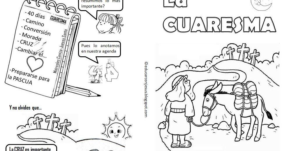 La Catequesis: Explicación Sencilla para niños de la Cuaresma con un ...