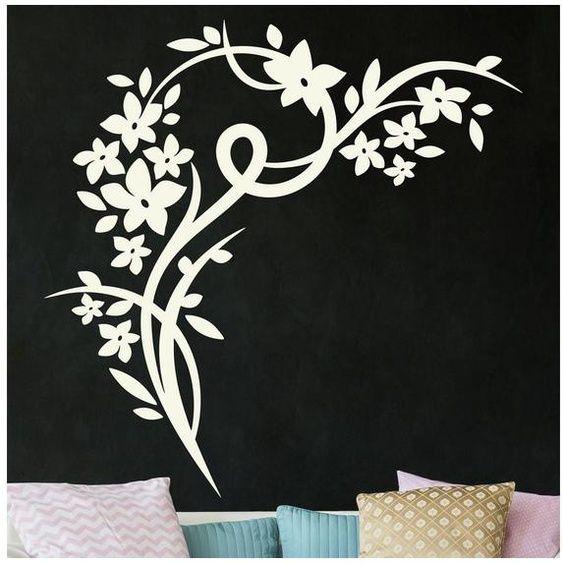 Photo of Bilderwelten Wall Decal »Flower Corner«