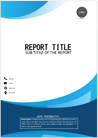 How To Create A Title Page In Word : create, title, Cover, Simple, COVER, PAGES, Template, Word,, Pages,