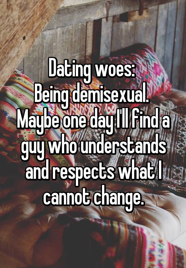 Demiromantic dating