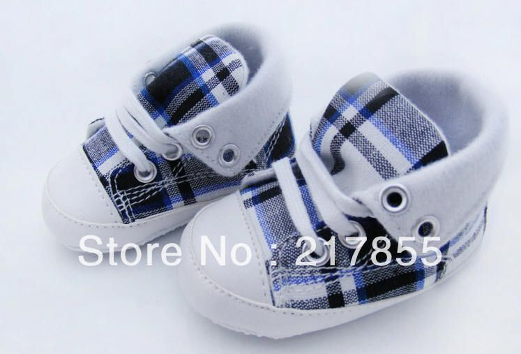 Plaid baby shoes baby  toddler shoes free shipping 2013 hot sale-in First Walkers from Shoes on Aliexpress.com $5.99