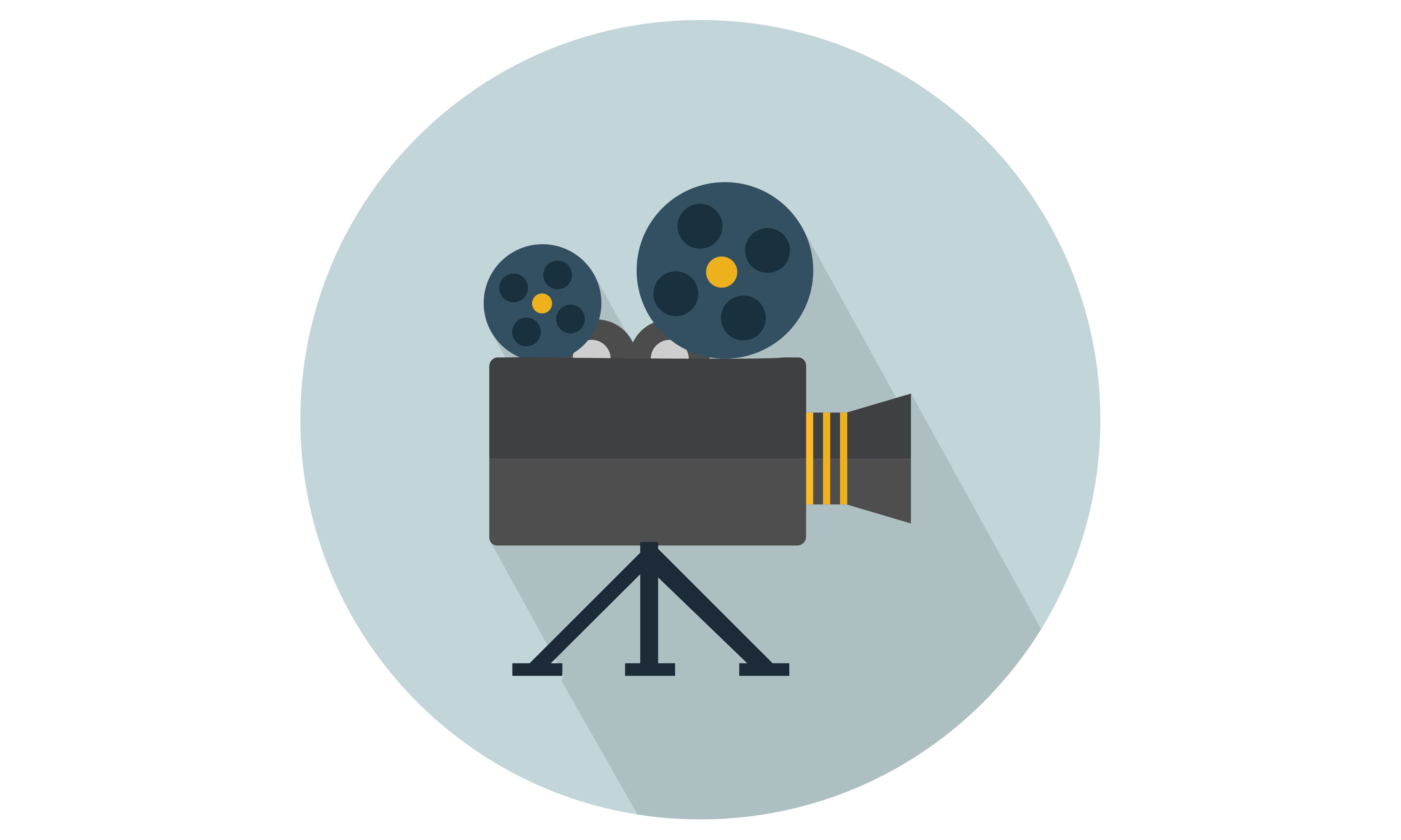 Camera with Stand Vector Illustration Icon. From Our
