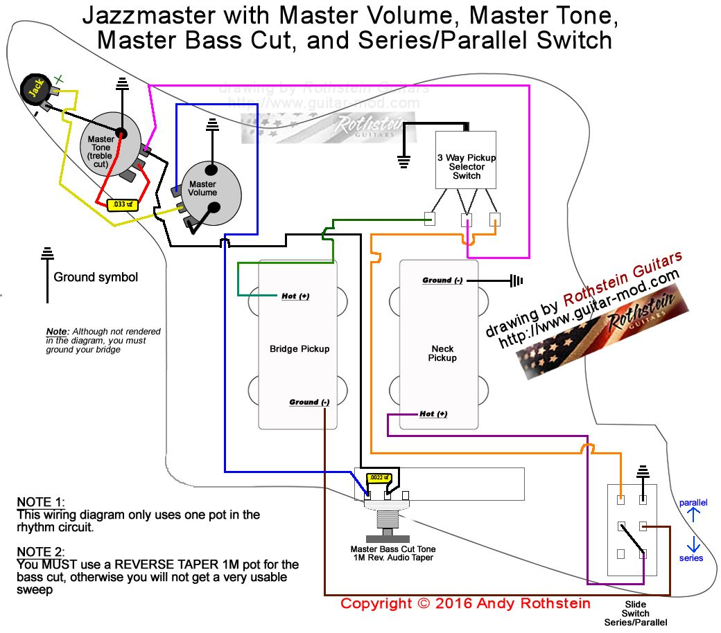4 Way Telecaster Series Parallel Switch Wiring Diagram