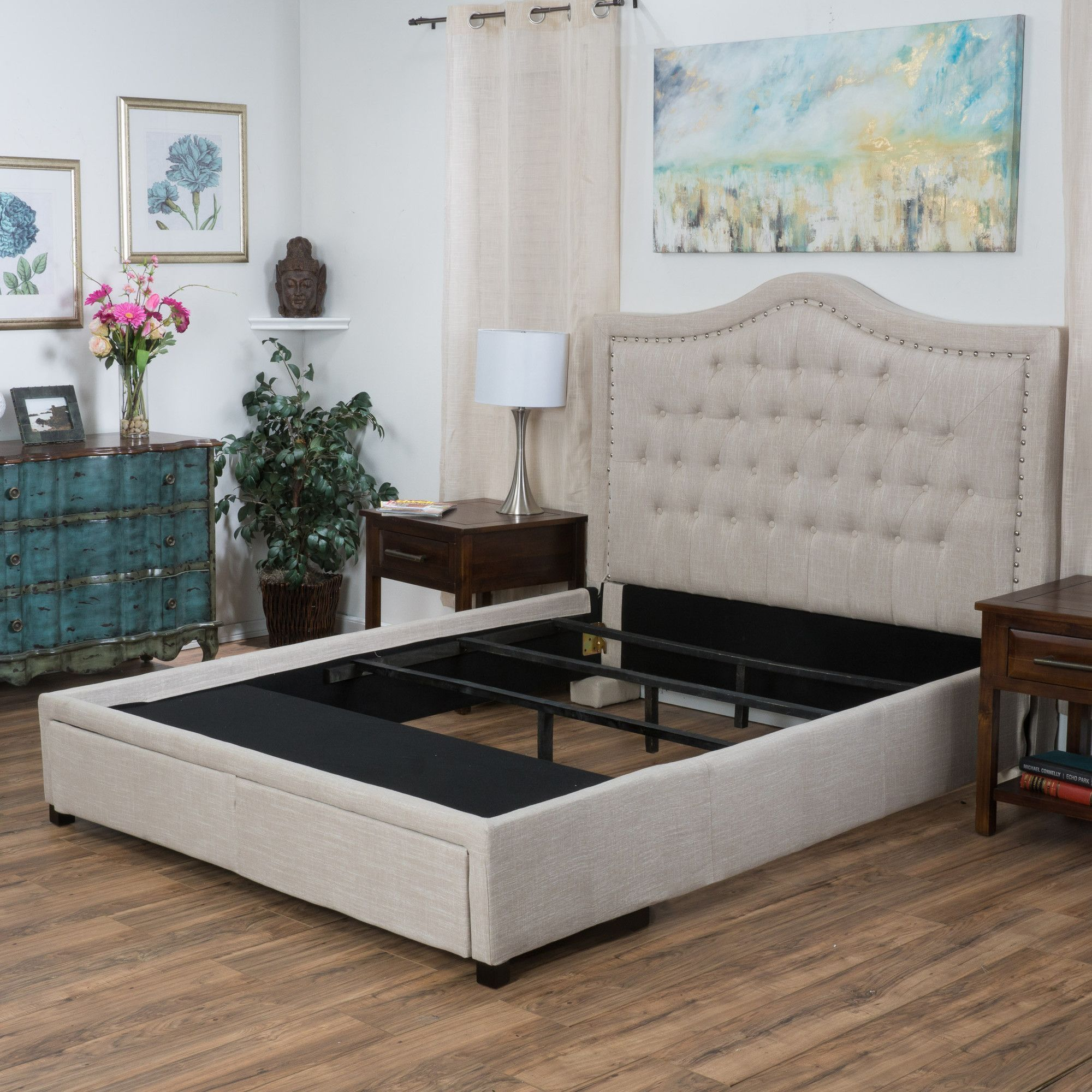 Homemade twin loft bed  Michelle Storage Panel Bed  Products  Pinterest  Products