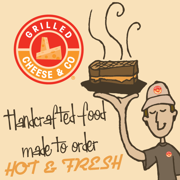 Grilled Cheese & Co - Social Media Images by Joshua Bell, via Behance