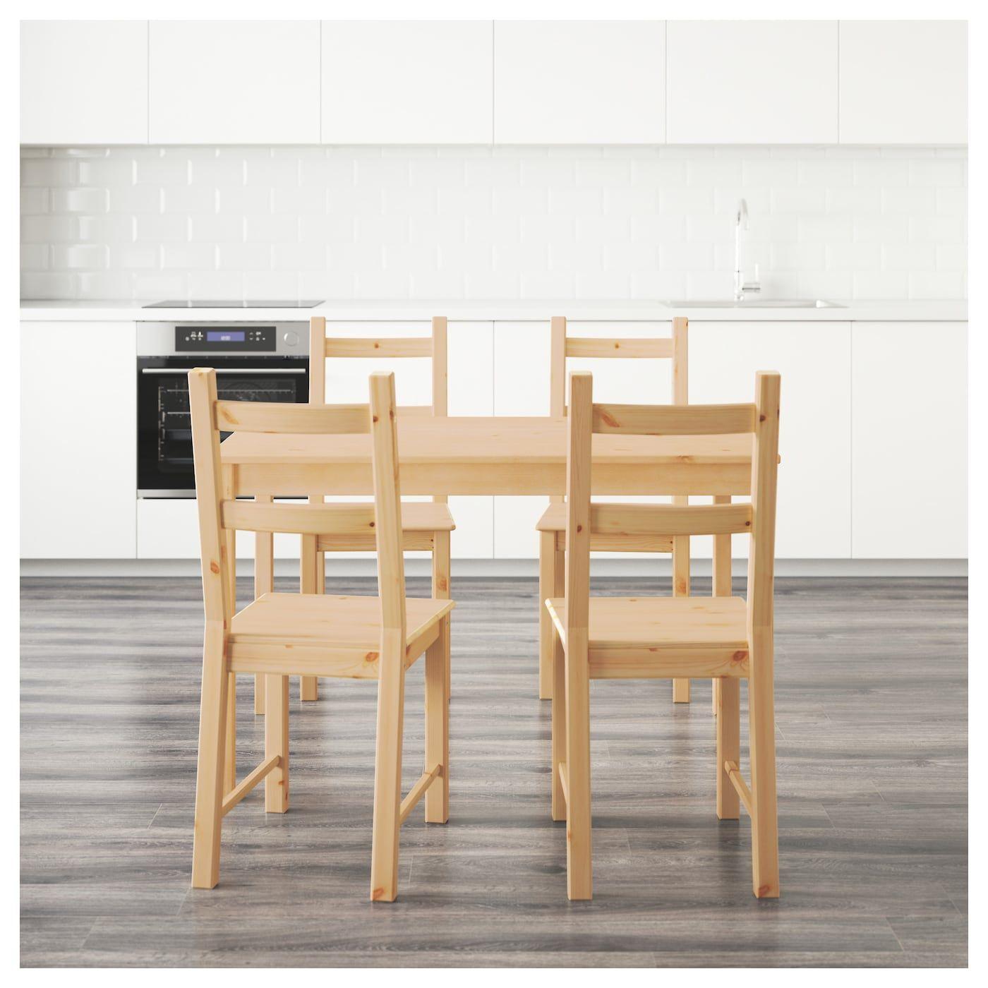 Ingo Ivar Tisch Und 4 Stuhle Kiefer Ikea Osterreich Kiefer