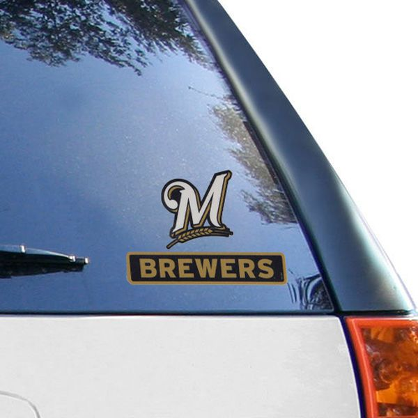 WinCraft Milwaukee Brewers X Perfect Cut Decal Milwaukee - Custom vinyl decals milwaukee