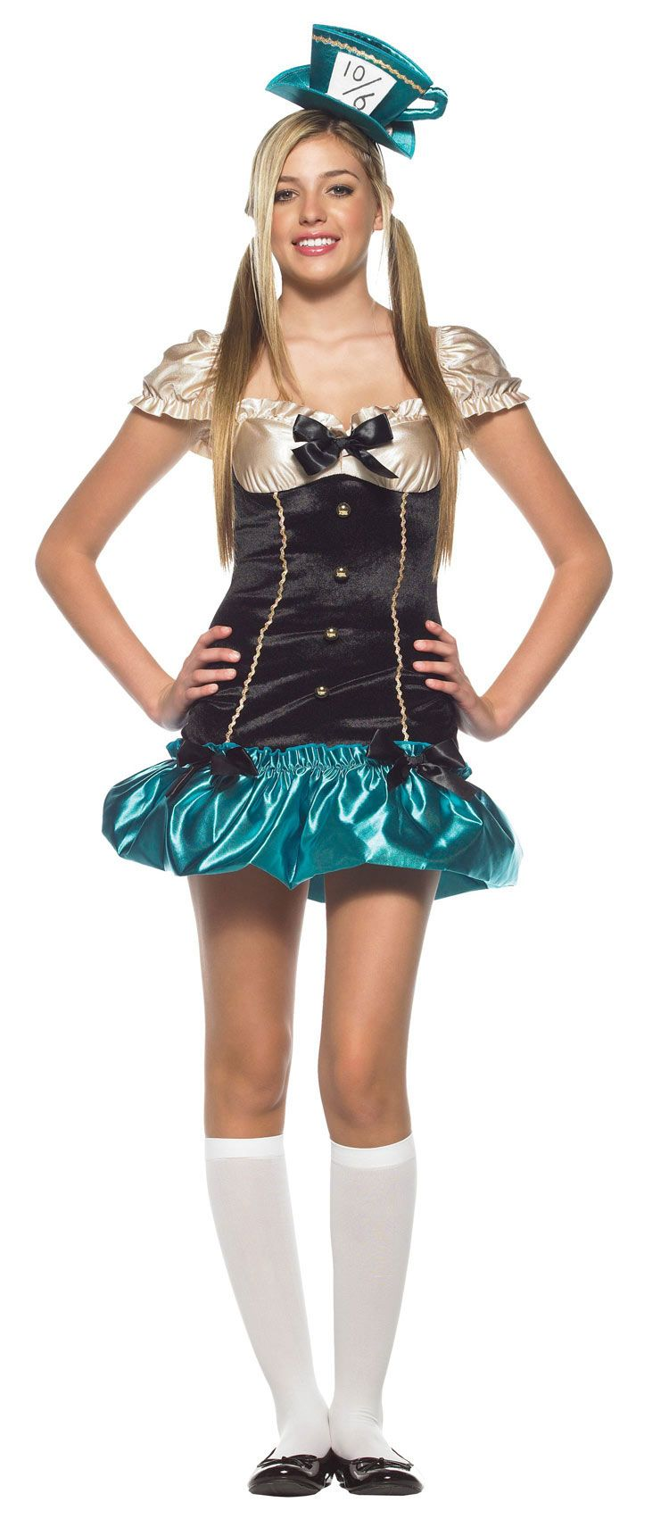 Teen Tea Party Hostess Costume - Alice in Wonderland Costumes ...