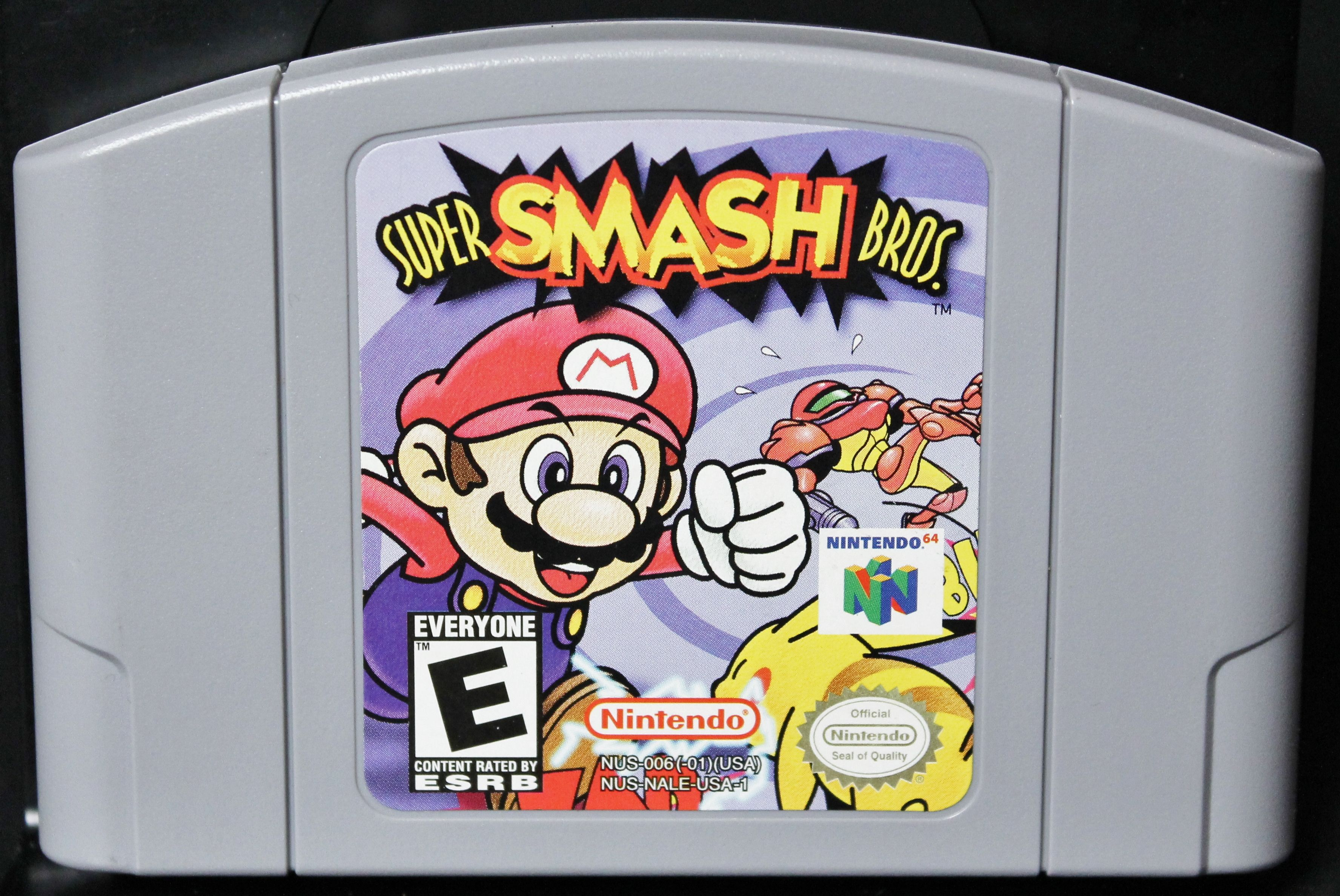 Duke It Out As Your Favorite Nintendo Characters Super Smash Bros For The Nintendo 64 Www Warpzoneonline C Smash Bros Super Smash Bros Game Super Smash Bros