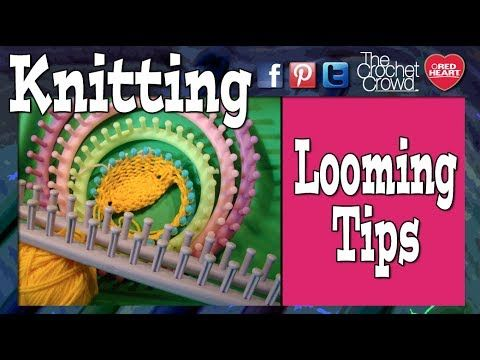 Learn To Knit With A Knitting Loom Loom Knitting Knifty Knitter
