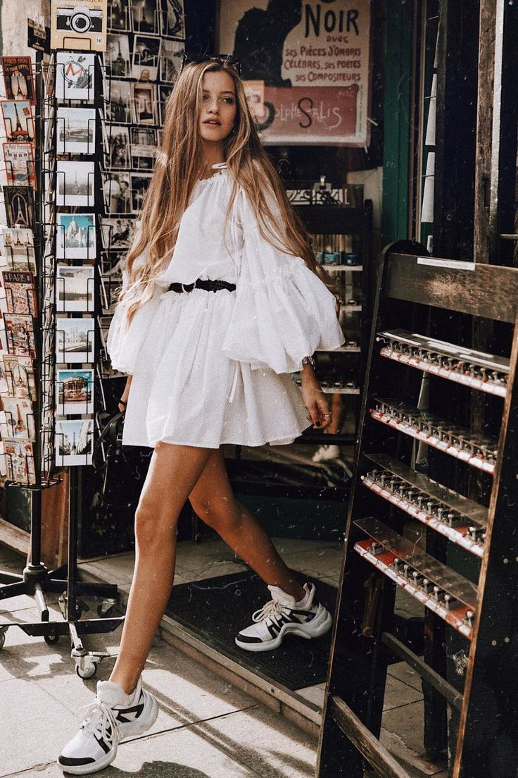 Auf der Suche nach einem perfekten weißen Kleid für den Sommer #trendystreetstyle