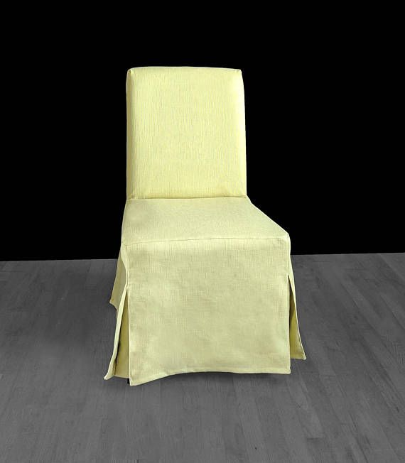 Solid Light Green IKEA HENRIKSDAL Dining Chair Cover Custom