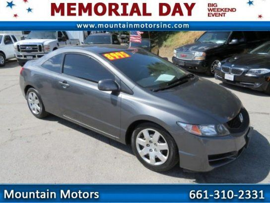 coupe 2010 honda civic lx coupe with 2 door in newhall ca 91321 honda cars collection. Black Bedroom Furniture Sets. Home Design Ideas