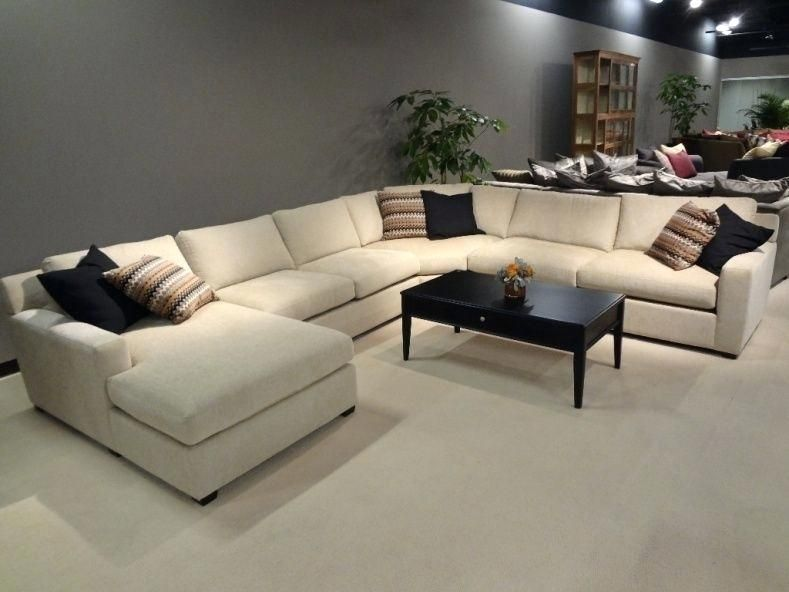 Large U Shaped Sectional Sofas Large Sectional Sofa U Shaped