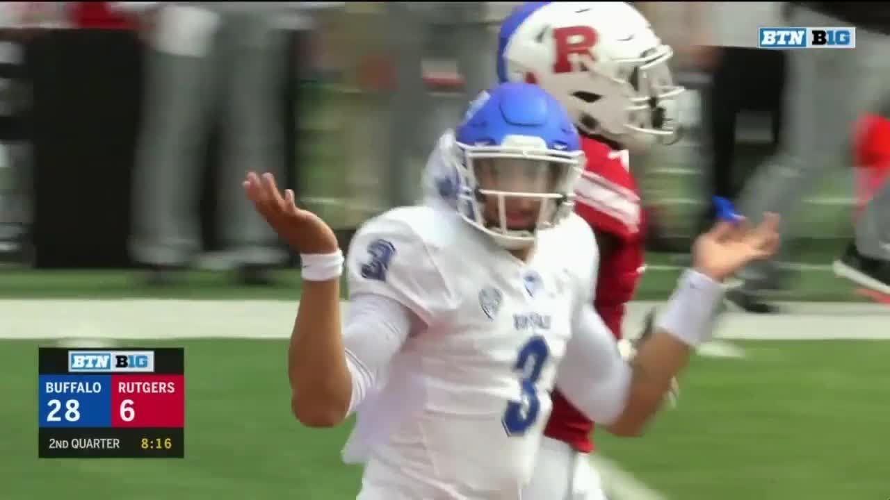 Top 3 Plays Of The Second Quarter Buffalo Vs Rutgers Big Ten Football Big Ten Football Big Ten Rutgers
