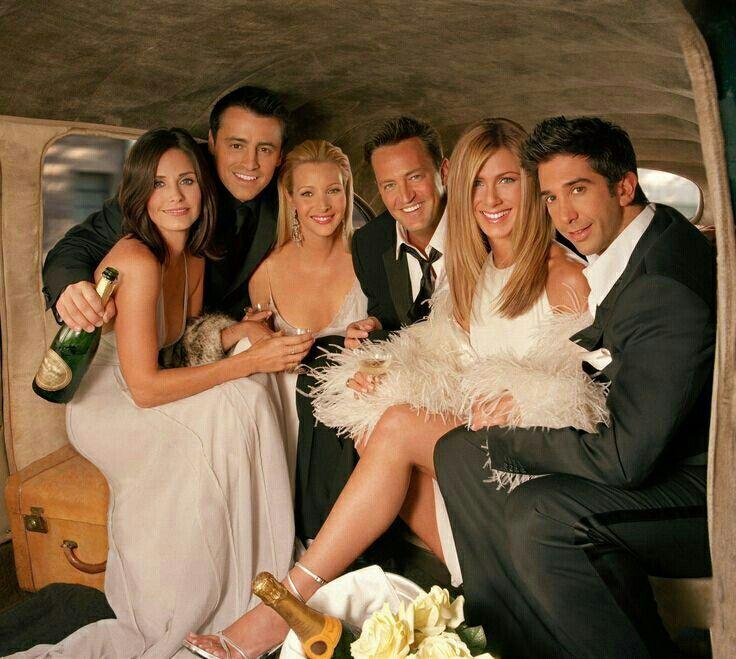 Friends Season 10 Cast Photo Friends Cast Friends Moments