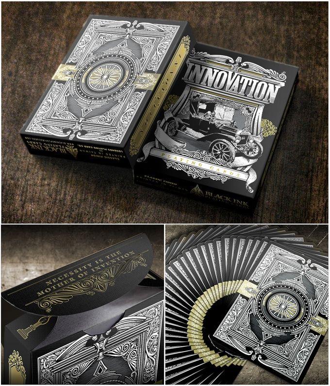 Innovation Playing Cards Standard Edition by Jody Eklund Poker Spielkarten