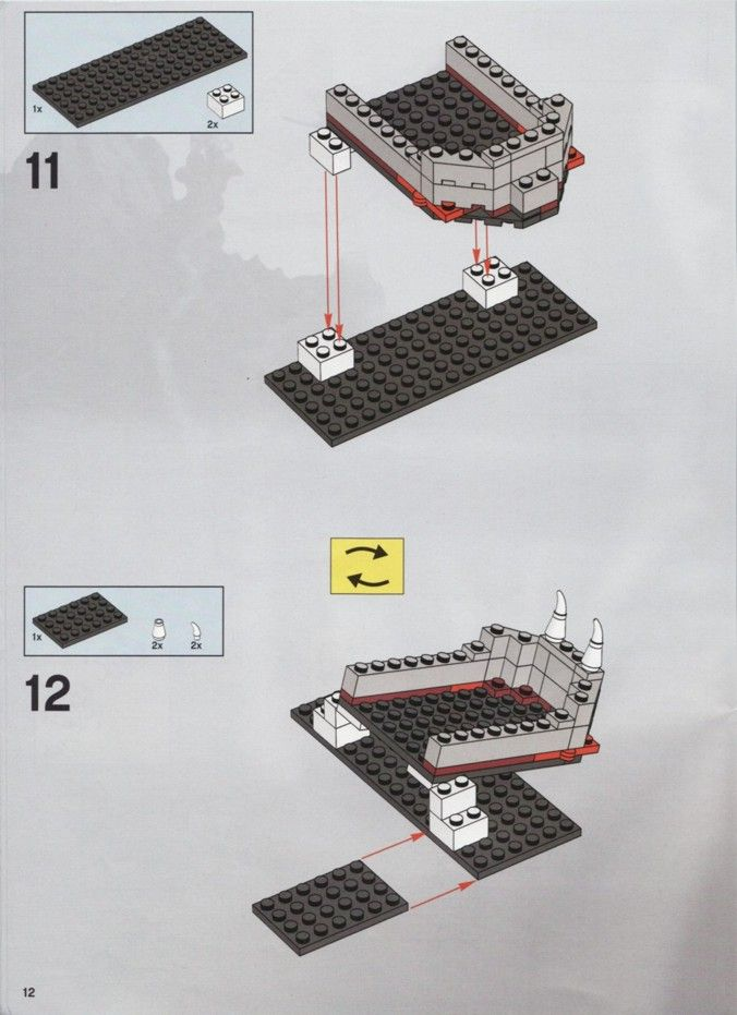 Castle - Skeleton Tower [Lego 7093]