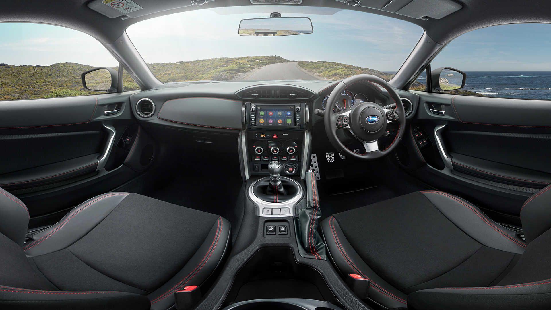 Subaru Brz Interior in 2020 Subaru brz interior, Subaru