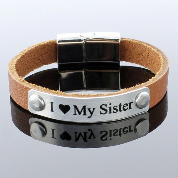 Personalized Bracelet Custom Leather By Ethnicts On Etsy