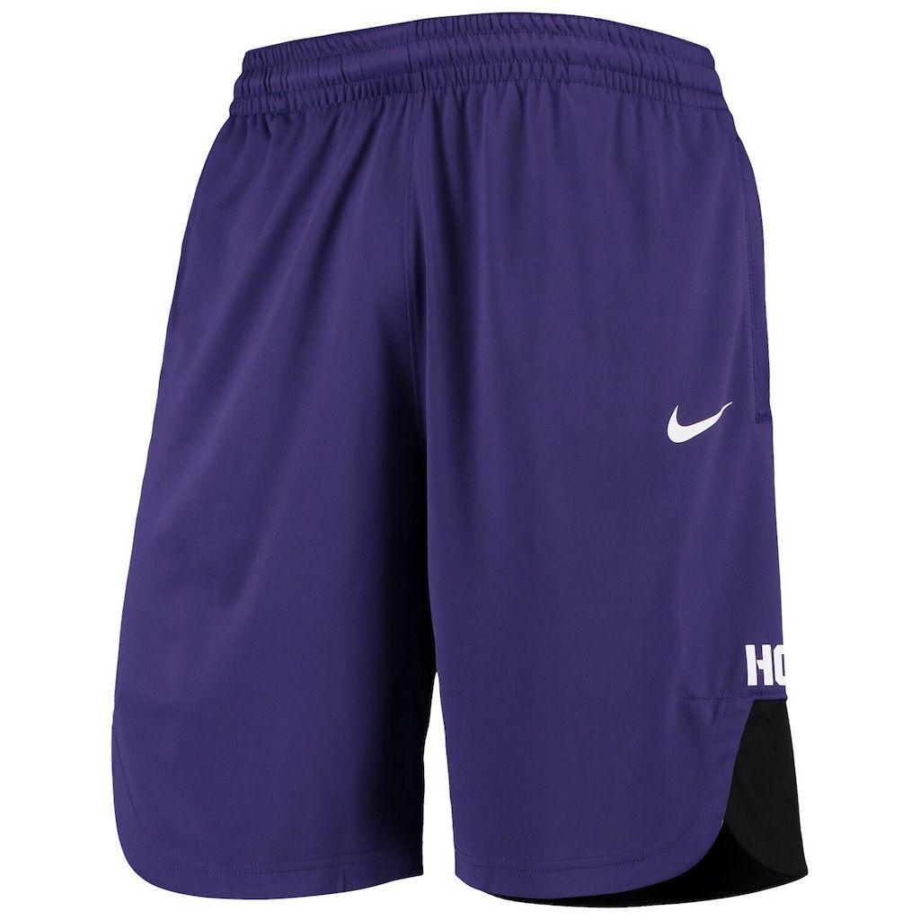 Men's Nike Purple TCU Horned Frogs On Court Basketball