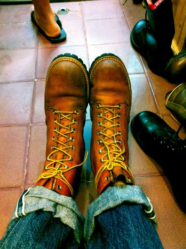 Red wing 899 70's boots with denim joe McCoy | Clothes | Pinterest ...