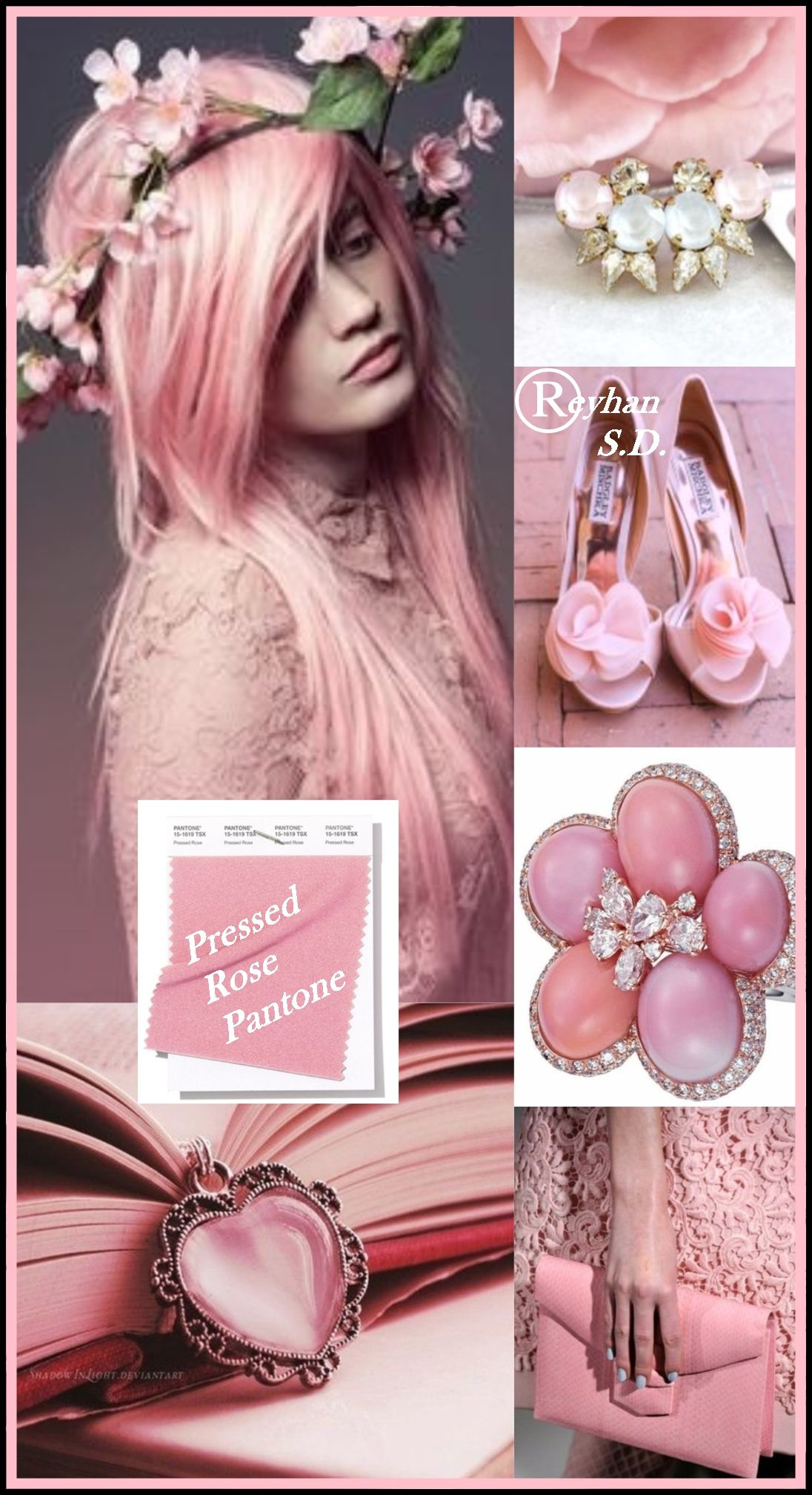 '' Pressed Rose - Pantone Spring/ Summer 2019 Color '' by ...