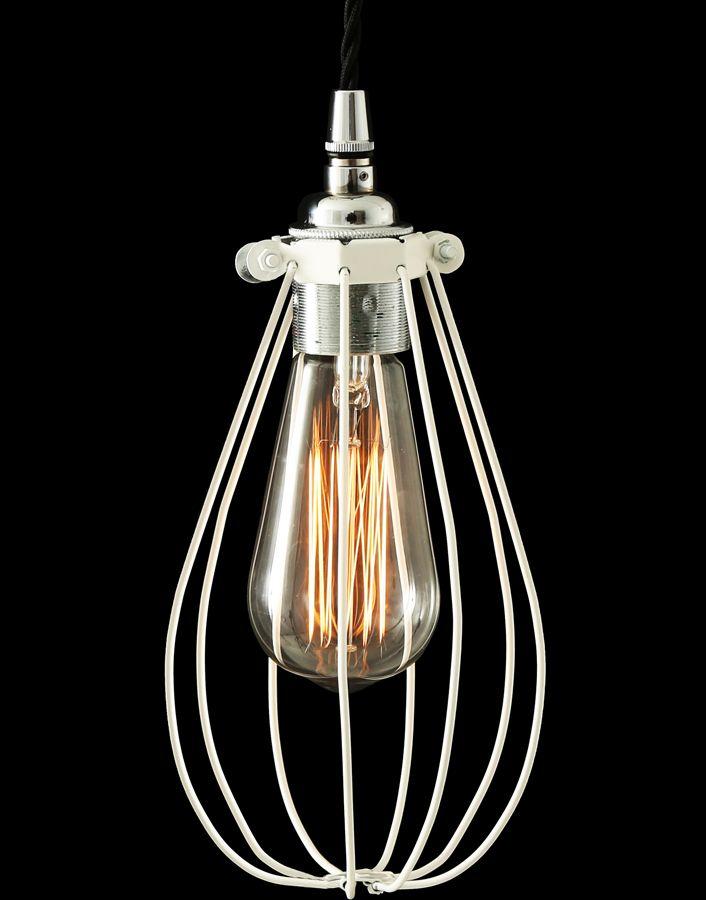 La lámpara de techo retro vox de mullan lighting es una lámpara muy original industrial
