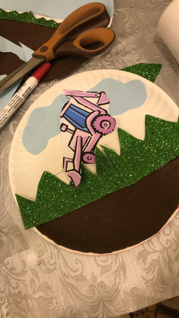 عمل فني حراثة للاطفال Craft Plowing For Children Crafts Sugar Cookie Pattern