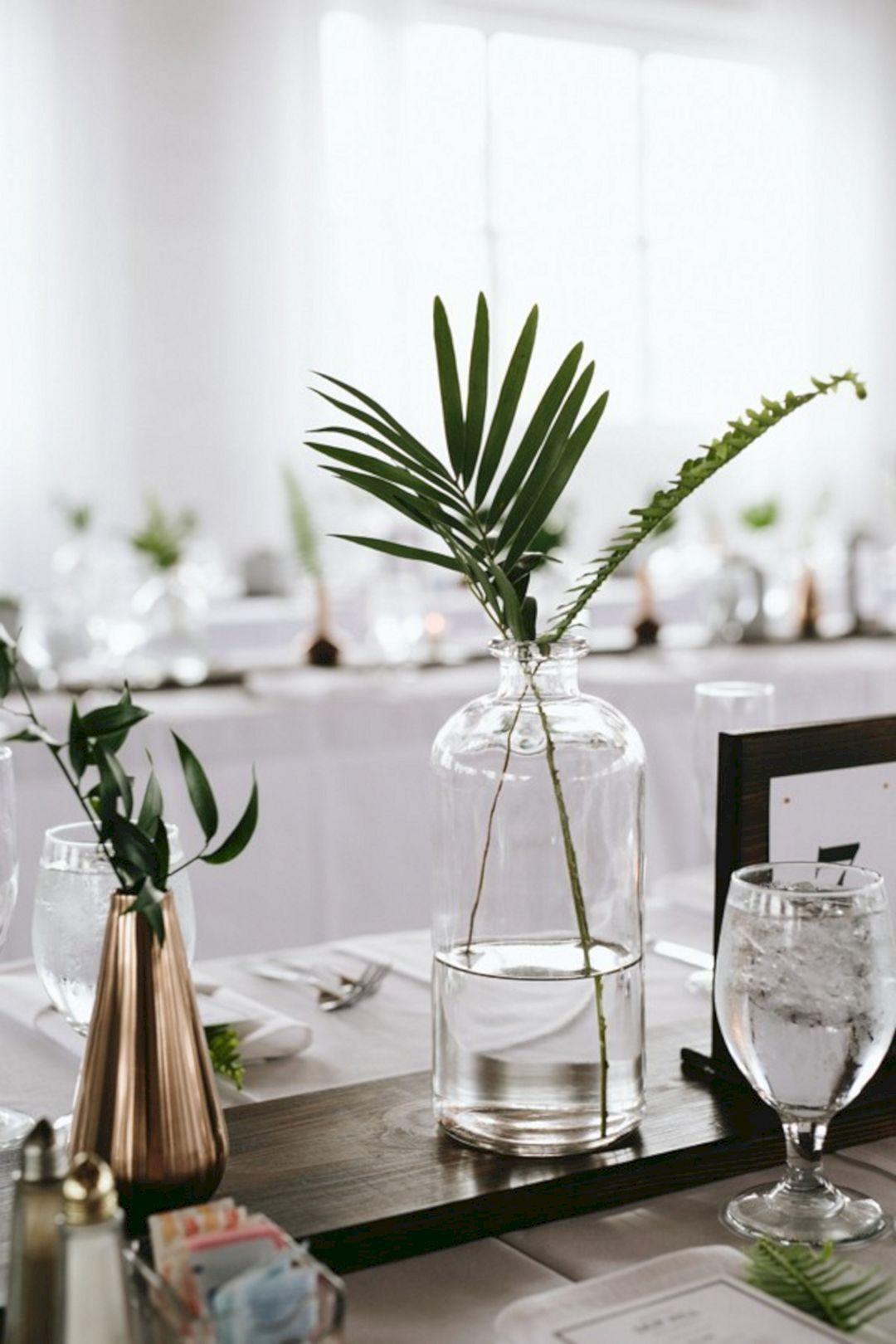 Simple And Minimalist Wedding Decor Inspirations 0037