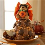View Halloween Bear Jumbo Caramel Apple Gift