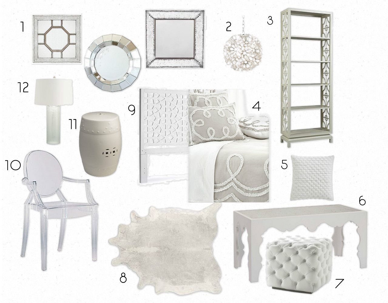 white decor | inspiration boards | pinterest | inspiration boards