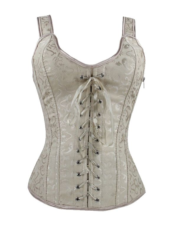 Sexy Overbust Lace Up Waist Training Corset