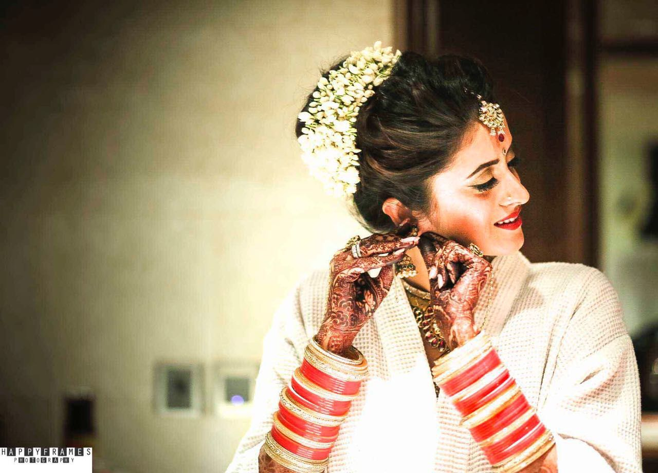 indian wedding hairstyle gallery%0A Picture from Natasha Dhawan Photo Gallery on WedMeGood