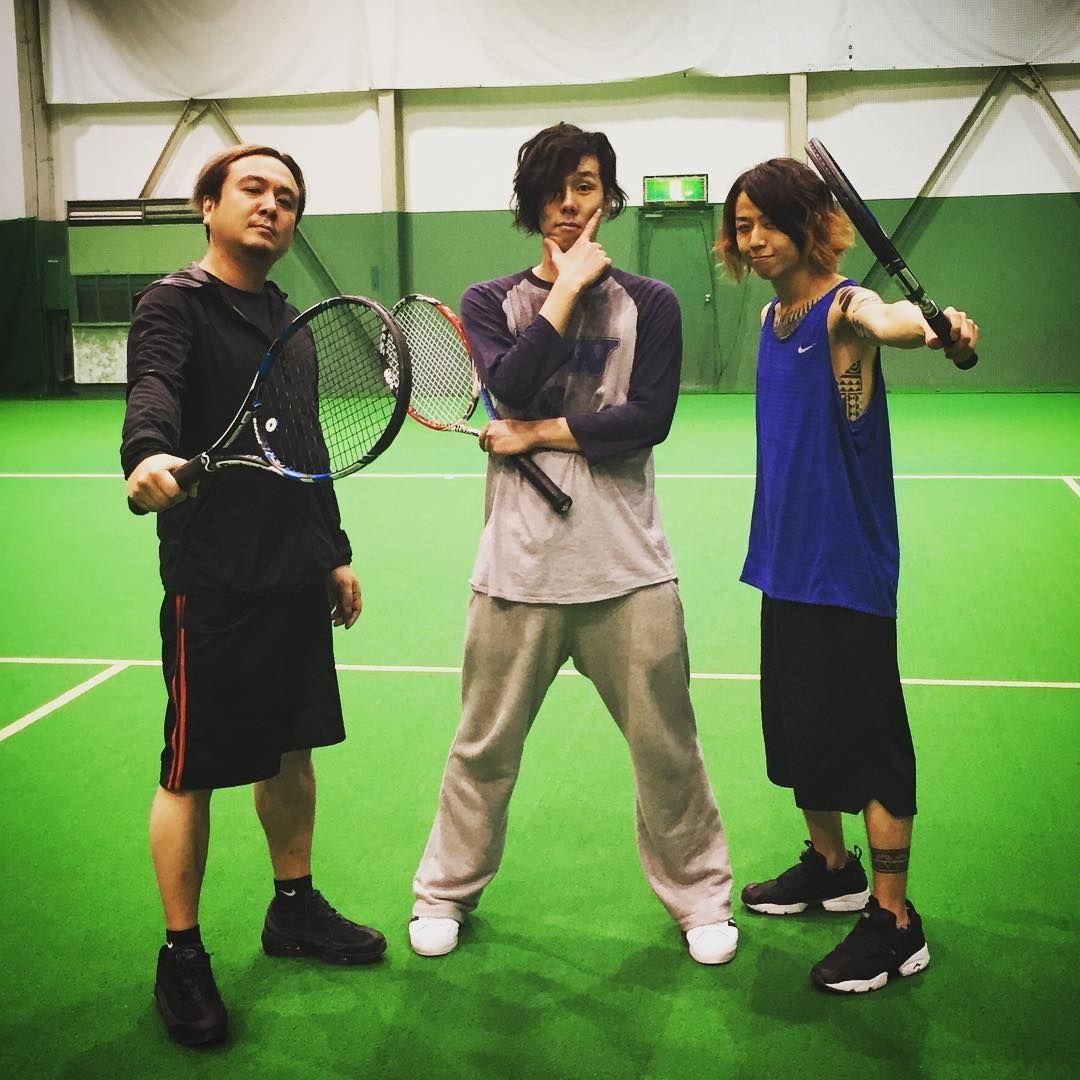 「バボラーズ!! 今日のゲストはよーじろーくん!☺︎☺︎☺︎ 楽しすぎたー!!!( *`ω´) #テニス部 #バボラーズ」