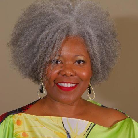 African American Natural Grey Hairbeautiful Gray Hair Black Women