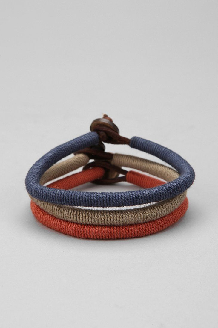 Wrapped leather bracelet urban outfitters diy pinterest