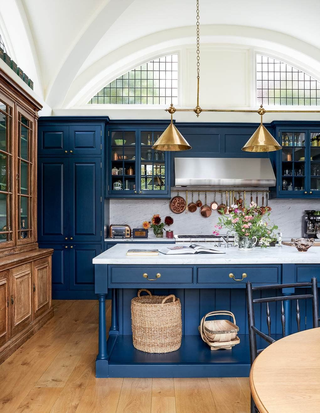 rRoomPorn Beautiful kitchen features pleasing blue