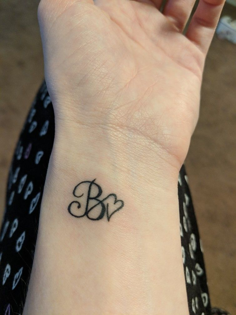 B Tattoo Images: Pin By Kara Selby On Tattoo's