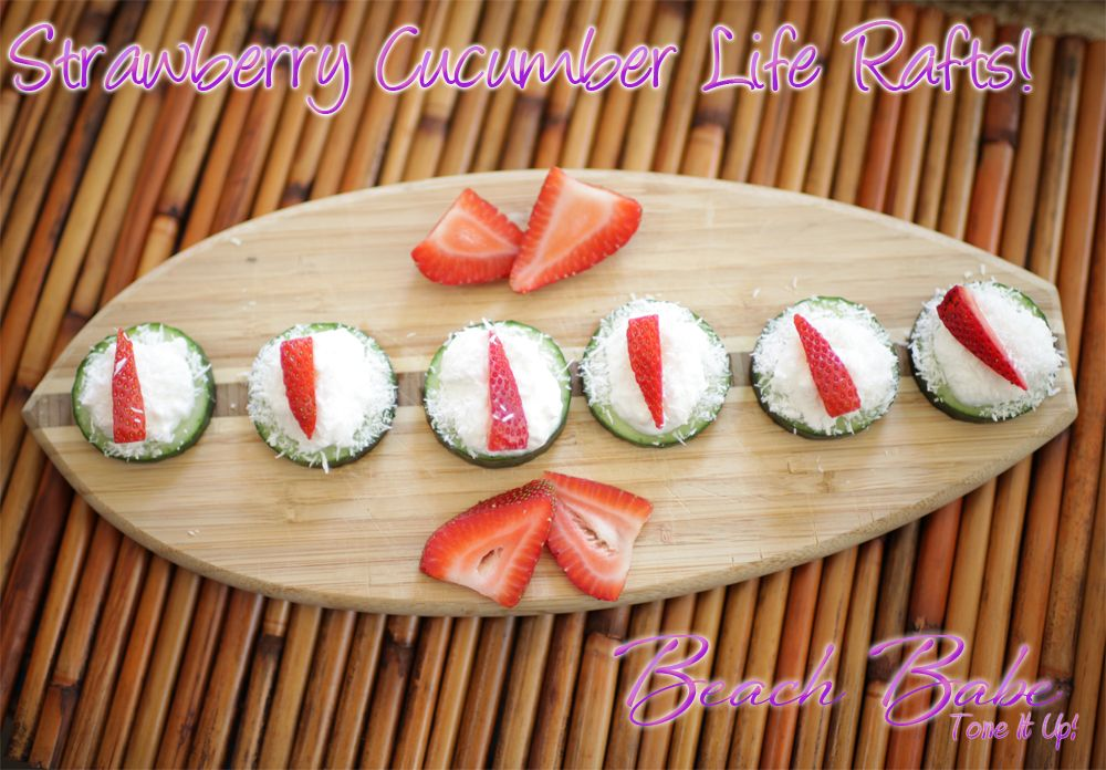 Who's making the Life Rafts this weekend from the Beach Babe http://ToneItUpDiet.com Plan? We are!!! So cute for BBQs & guests ♥   New followers, our Nutrition Plan is here~ http://tiny.cc/Beach-Babe-Edition-Plan    <3 k
