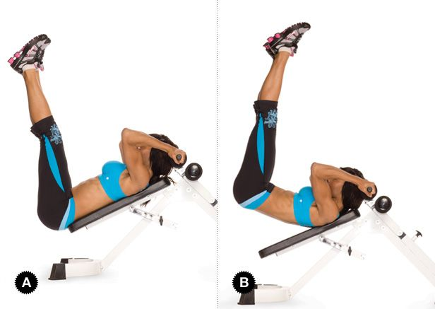 Champion Abs Oxygen Women S Fitness Bench Workout Bench Ab Workout Abs Workout