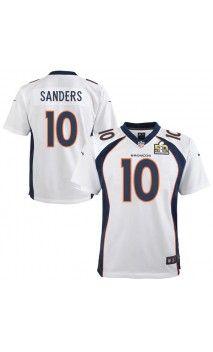 5e1400882 NFL Youth Denver Broncos Emmanuel Sanders White Super Bowl 50 Bound Game  Jersey  sb50  sports  jerseys
