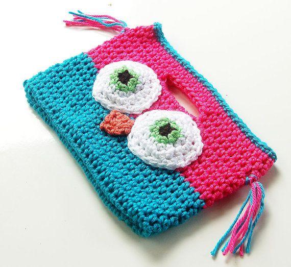 Owl Purse, Children\'s Owl Purse, Little Girl Crochet Purse Bag ...
