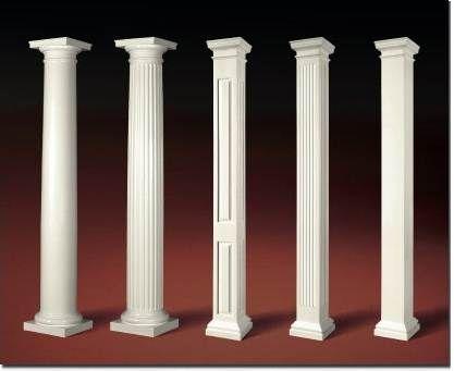 Molding On Pillars | Decorative Fiberglass Columns Including Greek Columns  Or Roman Columns
