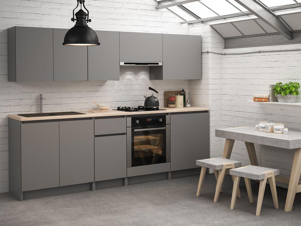Meble Kuchenne W Zestawach Rey W Sklepach Leroy Merlin New Kitchen Kitchen Kitchen Cabinets